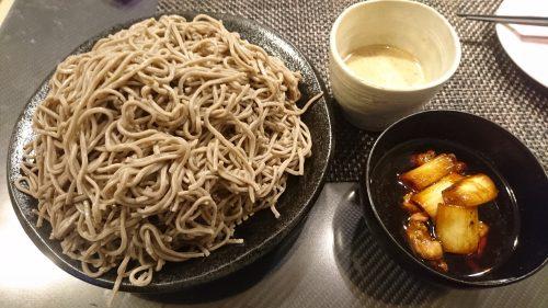【そば楽】五木食品のそば粉で打ち立て蕎麦